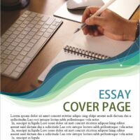 PRINTABLE ESSAY COVER PAGE TEMPLATE 4